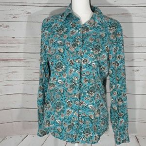 Vintage Pendleton button down shirt large